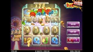 Donuts Slot - 75x Multiplier BIG WIN!