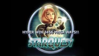 Star Quest Slot - HYPER 3456 WAYS WIN!