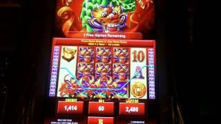 Dragon Lines Slot Bonus - Ainsworth