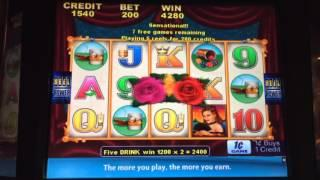 Delta Belle - Bonus - $2 Bet The spin button was busted