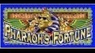 PHARAOH'S FORTUNE SLOT MACHINE-LIVE PLAY-BONUS
