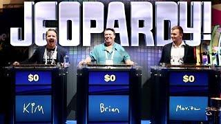 Playing Jeopardy (I know, I suck •) and Slots at G2E Global Gaming Expo in Las Vegas   Vlog 45