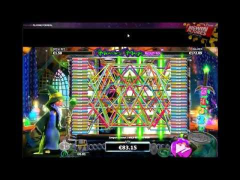 Merlin's Magic - Respins Feature MEGA BIG WIN!