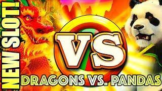 ⋆ Slots ⋆NEW SLOT!⋆ Slots ⋆ THE FIERCEST SURVIVES (MY MONEY'S ON IT!) ⋆ Slots ⋆ DRAGONS VS. PANDAS Slot Machine (IGT)