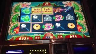 New Jade Palace slot machine bonus win