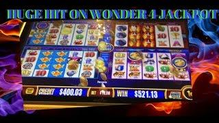 JACKPOT on WONDER 4 JACKPOTS!!! bueno!!....Wicked Winnings