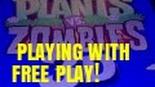 PLANTS VS ZOMBIES 3D SLOT MACHINE BONUS