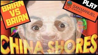 Brian VS Brian on China Shores • COMPETITION • San Manuel Casino w Brian Christopher #AD