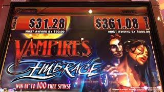 •️ VAMPIRES EMBRACE LIVE FROM CASINO