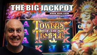 • HANDPAY TIME! • LUCKY ELEPHANTS • Tower of the Temple