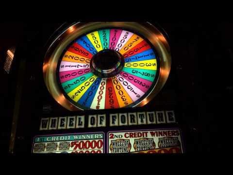 Wheel of fortune $50 bet bonus spin high limit slots