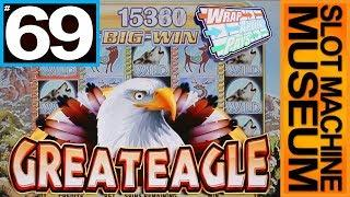GREAT EAGLE WRAP AROUND PAYS (WMS)  - [Slot Museum] ~ Slot Machine Review