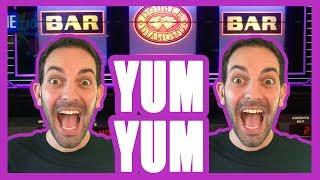 • YUM YUM Gimme SUMS • • High Limit Slot Machine Pokies • w Brian Christopher