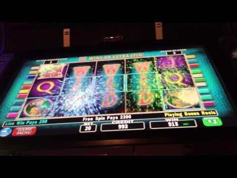 Diamond Queen BIG JACKPOT with multiple re-triggers high limit slots bonus