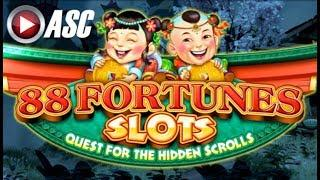 88 FORTUNES SLOTS (QUEST FOR THE HIDDEN SCROLLS) | THE ANCIENT PRISONER (EP 2) •GAME APP REVIEW•