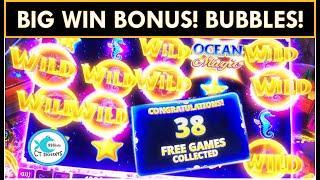 BUBBLES! ⋆ Slots ⋆ BIG WIN BONUS ⋆ Slots ⋆ OCEAN MAGIC DELUXE SLOT MACHINE ⋆ Slots ⋆ RISING KOI from KONAMI KICKS A$$!