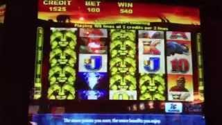 ***BIG Win*** 100 Lions -Aristocrat Slot Machine Bonus