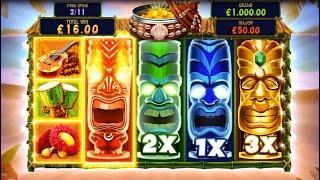 Tiki Mania Online Slot from Microgaming