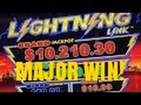 LIGHTNING LINK SLOT MACHINE- HUGE WIN-HAPPY LANTERN