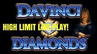 HIGH LIMIT DAVINCI DIAMONDS & PIGGY BANKIN