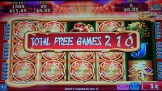 Flying Fortune Slot Machine Bonus + Retriggers - 380 FREE SPINS - MEGA BIG WIN (#5)