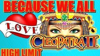 CLEOPATRA 2 SLOT HIGH LIMIT AND SEVERAL BONUS   JACKPOT HANDPAY