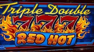 Big Win •Big Profit• Triple Double RED HOT - 9 Lines Bet $18 @ Pechanga Resort Casino 赤富士スロット, カジノ