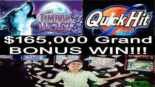 •165,000 Grand BONUS WIN •Jackpot Handpay Vegas Casino Elite High Roller Video Slot Machine, Aristo