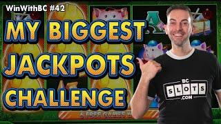 MY BIGGEST JACKPOTS CHALLENGE ⋆ Slots ⋆⋆ Slots ⋆ $25 Huff N Puff Spins