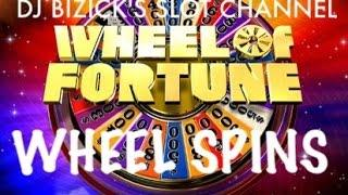 Wheel of Fortune Slot Machine ~ WHEEL SPINS ~ ALWAYS FUN TO WATCH! • DJ BIZICK'S SLOT CHANNEL
