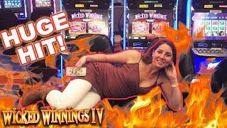 •Wicked WIN • Wicked Winnings IV with Melissa | Slot Ladies