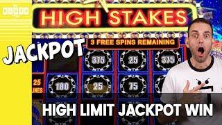 •️G • HIGH Limit JACKPOT WIN • $25/Spin Lightning Cash • • BCSlots