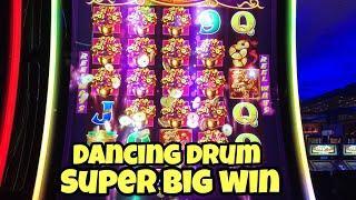 ***DANCING DRUM SUPER BIG WIN*** Very Scary WONDER 4 Bonus Games