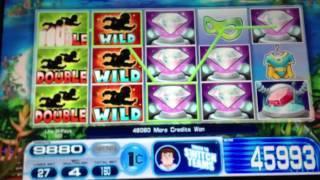 Super Team slot machine Feature Win.