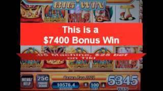 slot jackpots one week ago