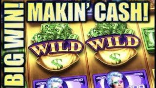 •BIG WIN! • MAKIN' CASH & ROCKIN' CASH (Aristocrat) Slot Machine Bonus [REPOST]