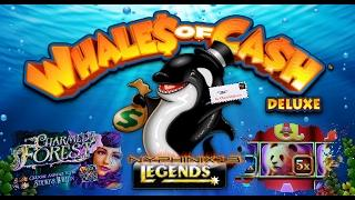 •NEW DELIVERY• Whales of Cash Deluxe First Attempt Slot Bonus NICE WIN