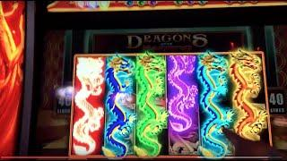 ~WMS~ DRAGONS OVER NANJING! SEVERAL BONUSES FAST PLAY!