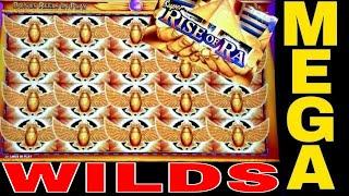 • SUPER MEGA BIG WIN• Super Rise Of Ra Slot Machine | Better Than Handpay Jackpot | MASSIVE SLOT WIN