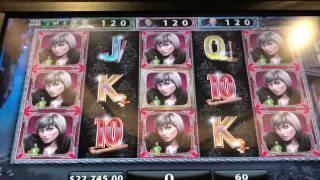 Black Widow Bonus Round at $300 pull Cosmo Casino