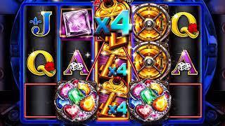 TWICE THE DIAMONDS Video Slot Casino Game with a TWICE THE DIAMONDS FREE SPIN BONUS