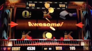 Gold Class Cash Express Bonus #1 At 55 Cent Bet