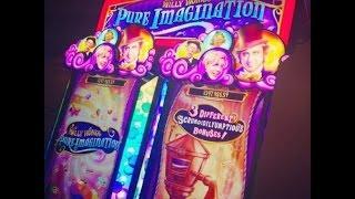 WMS - Willy Wonka Pure Imagination: All Bonuses & 2 oompa loompa Bonuses