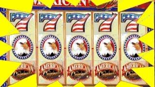 $1.8 Million Win! $100 American Original Patriotic Slot Machine! Jackpot, Handpay Aristocrat, IGT WM