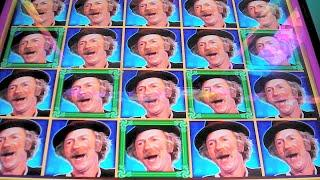 NEW Willy Wonka Slot Machine BONUS + OOMPA LOOMPA FEATURES Pure Imagination