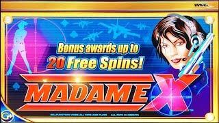 Madame X, 95% slot machine, DBG