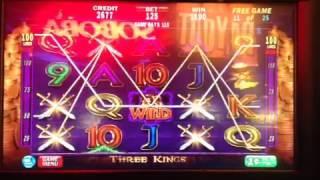 Three Kings Bonus On Max Bet