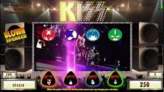 KISS Alive Picking Bonus From  KISS® Slot Machines By WMS Gaming