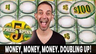 • • • MONEY. MONEY. MONEY. • Doubling Up! Green Machine Deluxe FTW!