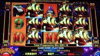 PEARL POWER | Ainsworth - 19 Progressive Wins! Slot Machine Bonus
